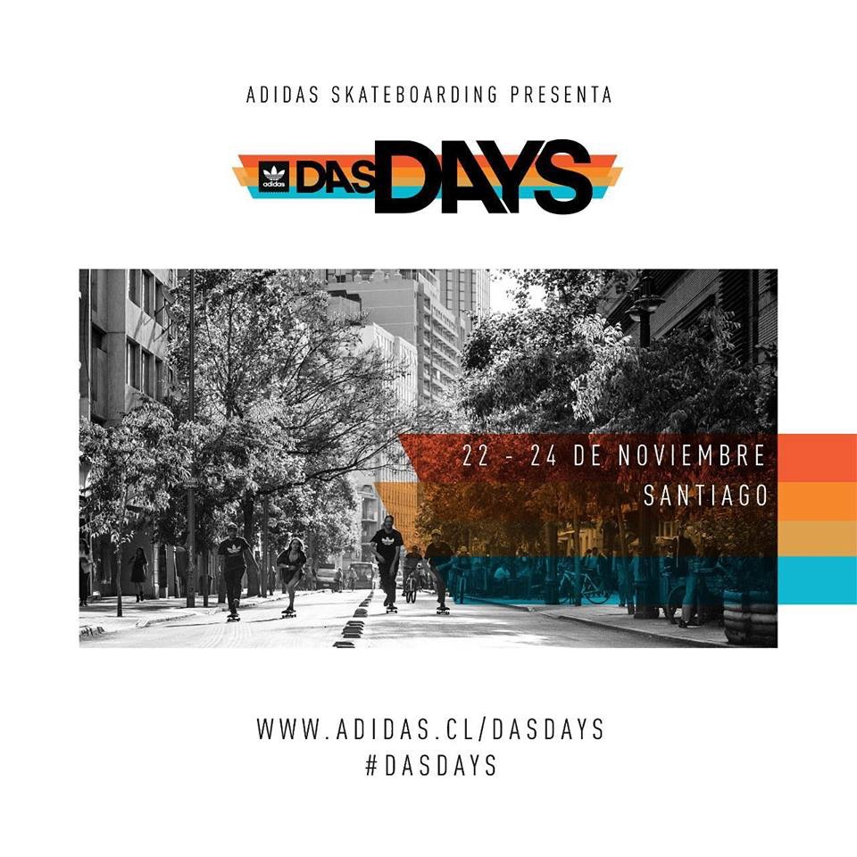 adidas Skateboarding presenta DasDays Santiago – Pivot Skate
